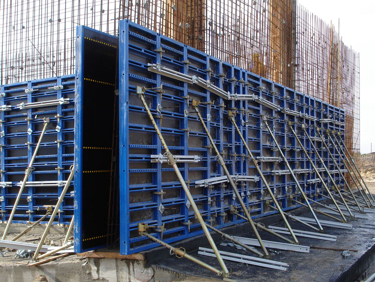 Vertical Shuttering Plywood For Wall : Construction formwork online civil